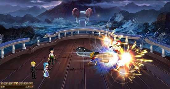 恶魔果实《热血海贼王》大海禁锢的力量