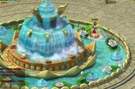 梦幻飞仙许愿池