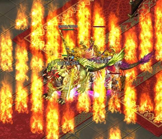 魔龙诀之火的威力