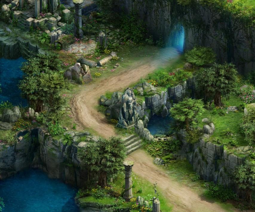 女神领域绿荫小径