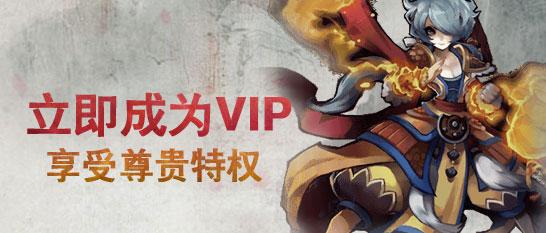 成为VIP,独享尊贵豪华特权!